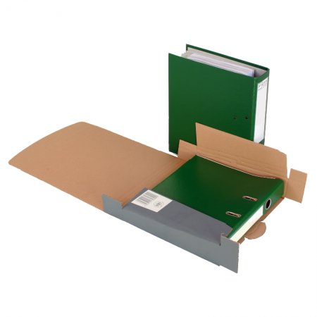 Ordner-Transportbox 320 x 228 x 50/80 mm (anthrazit)