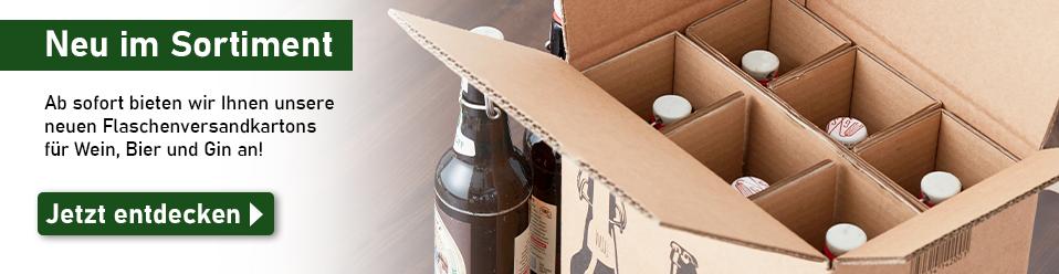 Zu den Flaschenversandkartons